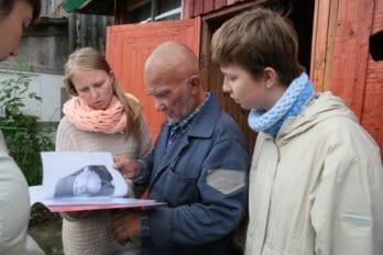Житель села Лижма рассказывает нам о том времени, когда храм святителя Николая Чудотворца в селе еще был открыт.