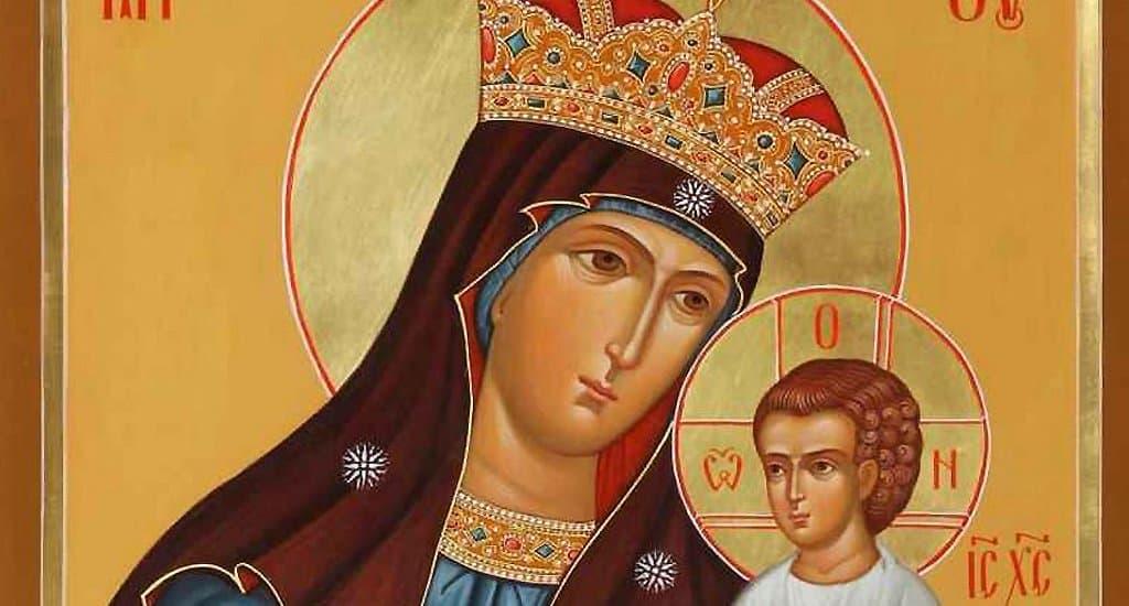 Церковь чтит древнюю Писидийскую икону Божией Матери