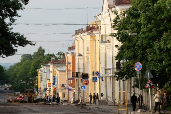 Центр города Пушкин. Фото lite_wiki