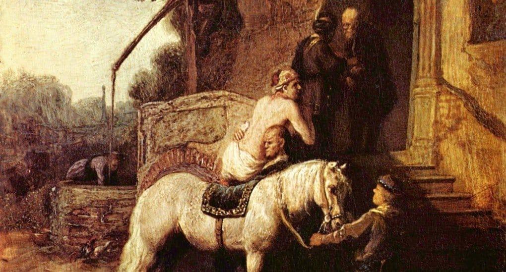 «Добрый самарянин», Рембрандт