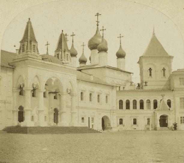 Чудов монастырь, 1859 год. Источник http://retromap.ru
