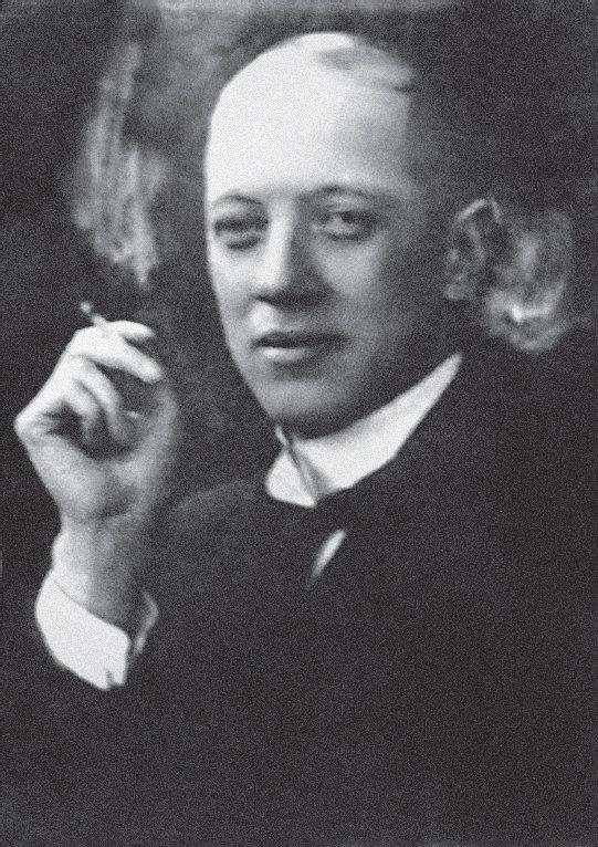 Николай Гумилев. Фотография М.С. Наппельбаума, 1918 год