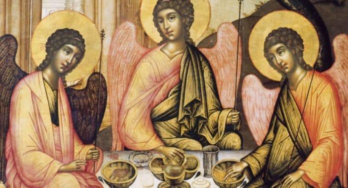 «Ветхозаветная Троица» или «Гостеприимство Авраама?»