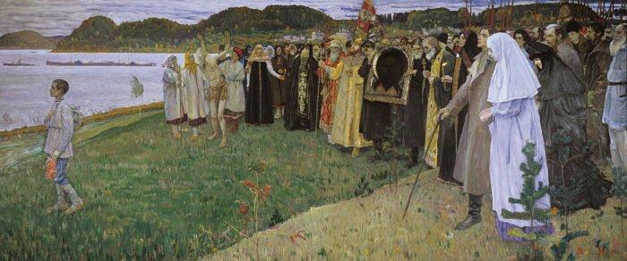 """Михаил Нестеров, """"На Руси. Душа народа"""", 1914—1916"""
