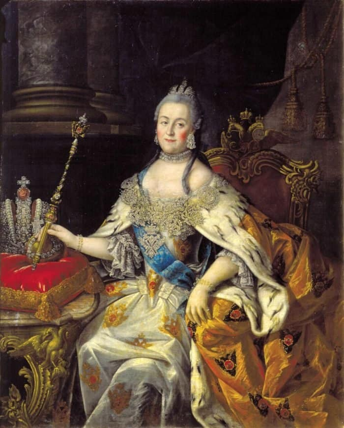 Алексей Петрович Антропов. Портрет Екатерины II. 1766