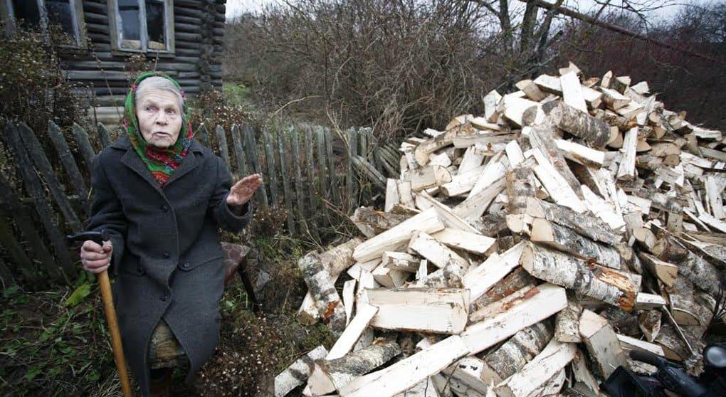 Малоимущим Свердловской области нужны дрова на зиму