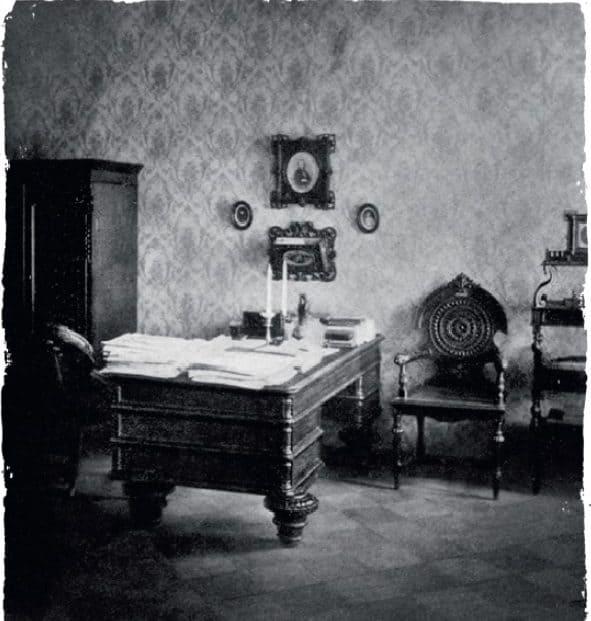 Рабочий кабинет Достоевского в последней петербург- ской квартире