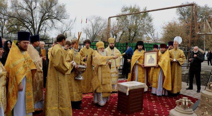 На российской авиабазе в Киргизии открыли храм Александра Невского