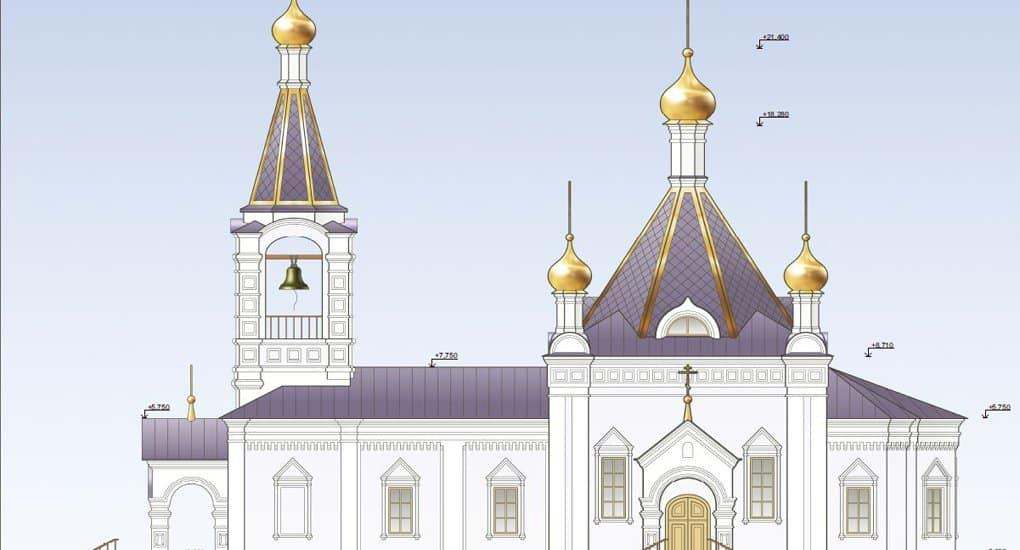 «Индивидуальный» храм святой княгини Ольги начали строить в Останкине
