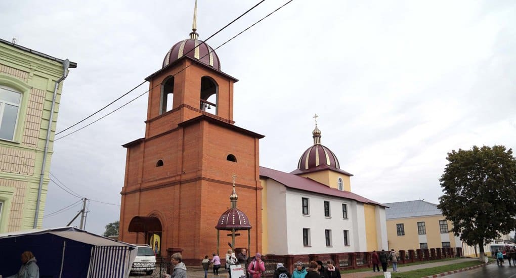 Храм Силуана Афонского появился в Беларуси