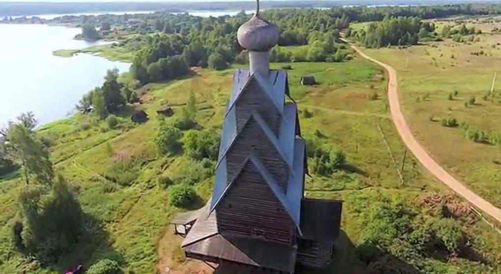 Самую высокую деревянную церковь в мире начали возрождать под Тверью