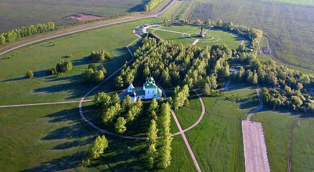 На Куликовом поле открыли музей в виде холма-кургана