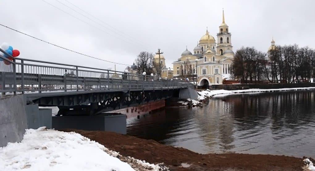 К Нило-Столобенскому монастырю открыли новый мост через Селигер