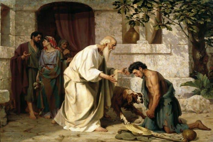"""Картина """"Блудный сын"""" 1882 г. Автор: Н.Д. Лосев"""