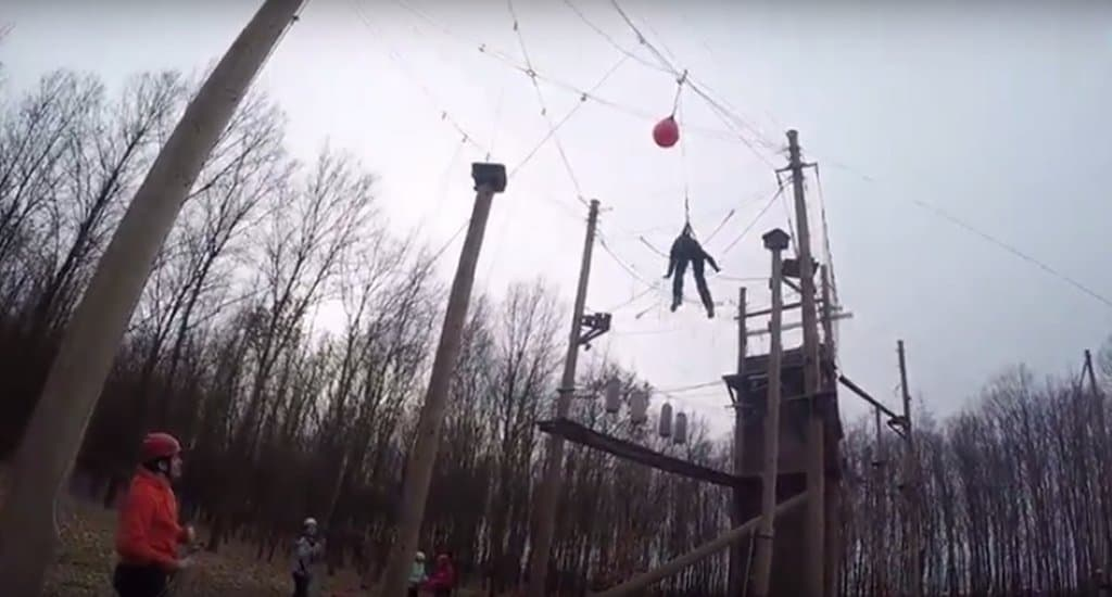 Под Владимиром открывается первый веревочный парк для «особых» детей