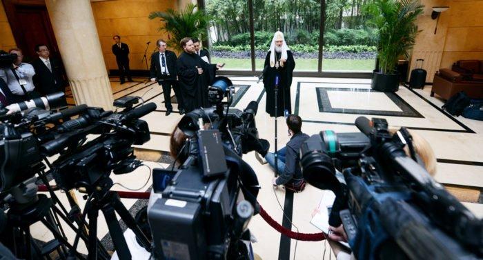 На «Вере и слове» представят книгу патриарха Кирилла о журналистике