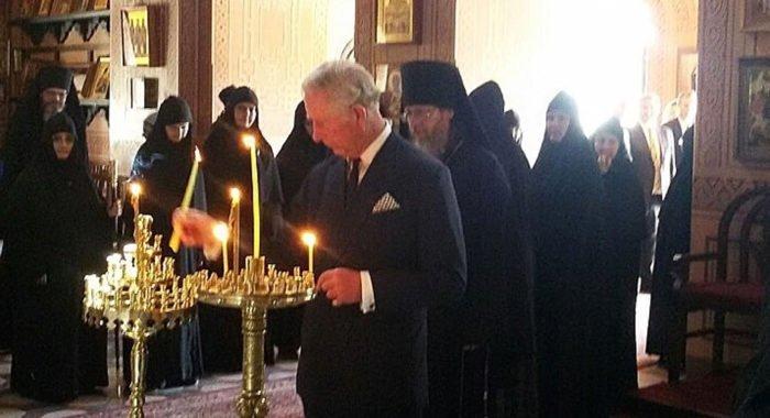 Принц Чарльз помолился в русском монастыре Иерусалима
