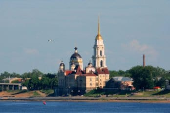 Rybinsk viewd from Volga. Matthias Kabel