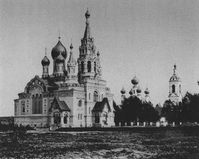 Спасский собор в селе Кукобой Ярославской губернии, освященный архиепископом Тихоном в 1912 году.
