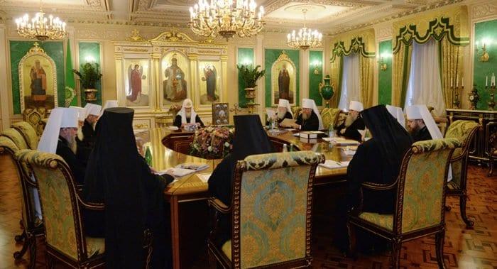 Подведены итоги очередного заседания Священного Синода