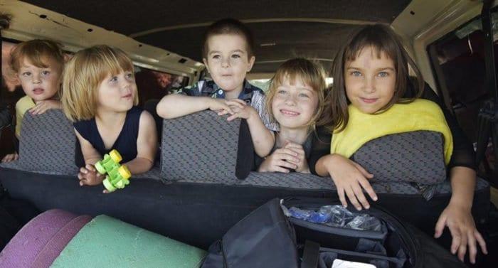 Многодетный отдых: когда куча детей и мало денег