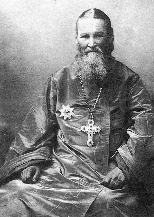 О. Иоанн Кронштадтский. Фото 1900-х гг.