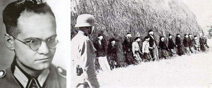 Йозеф Шультц и фотография с места расстрела