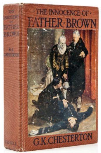 Первое изданиесборника рассказов «Неведение отца Брауна».Cassell & Co., London,1911