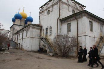 Никольский собор на территории завода «Севмашпредприятие». Фото пресс-службы Архангельской епархии