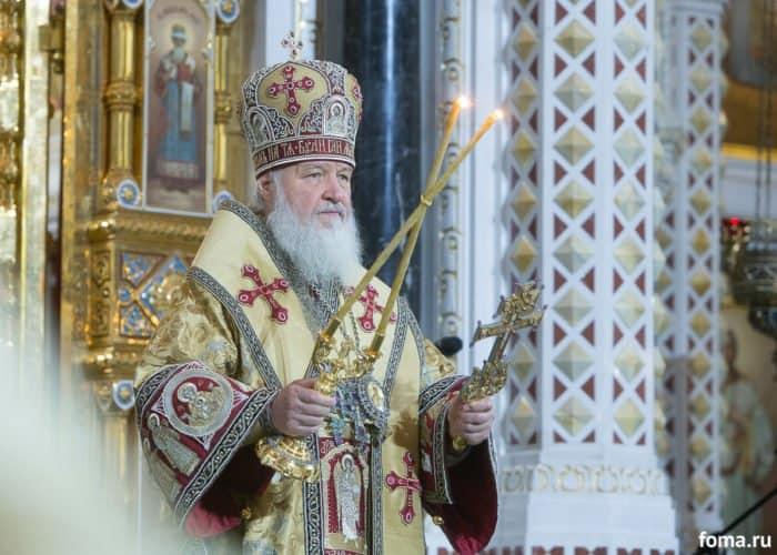 Послучаю 70-летия патриарха Кирилла в монастыре Христа Спасителя начались празднества