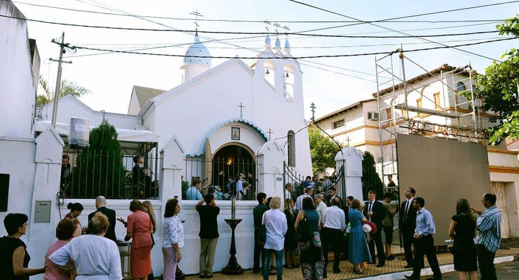 Священнослужитель из России прибыл на место своего служения в столицу Парагвая