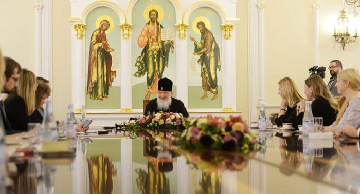 Патриарх отвечает «Фоме»
