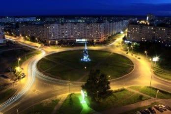 Площадь Корабелов. Фото пресс-службы Архангельской епархии