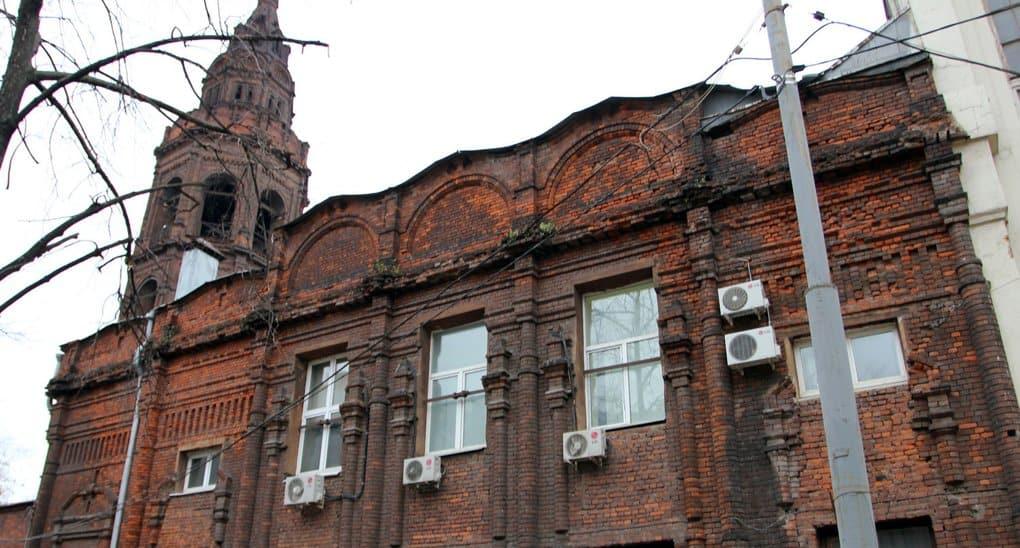 Церкви могут вернуть бывший храм, из которого уезжает «Союзмультфильм»