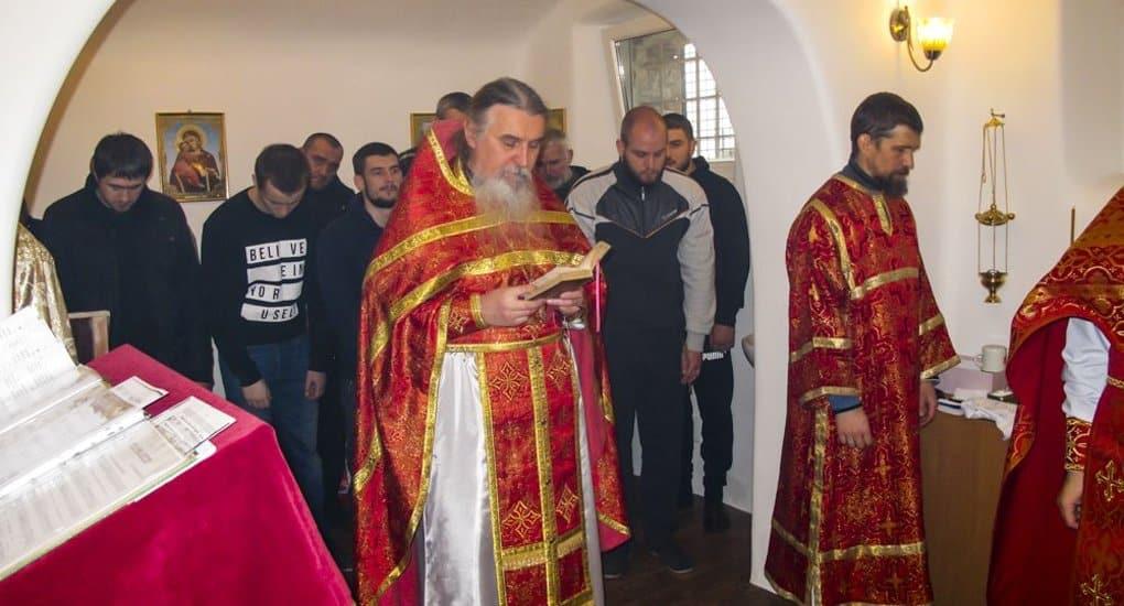 В одесском СИЗО, где в 1930-ых годах сидел святой, открыли храм в его честь
