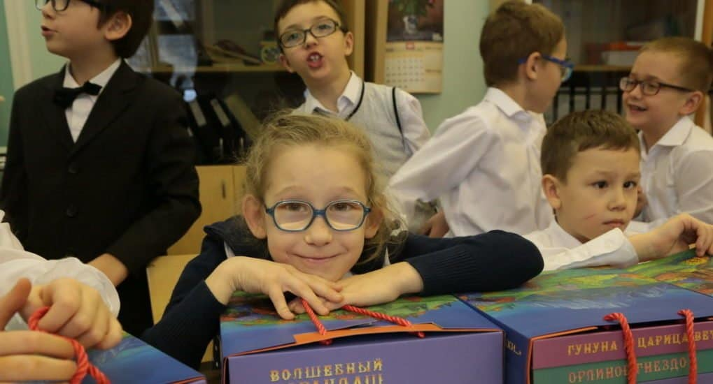 Иллюстрированные книжки для слепых детей стали главным подарком на празднике в