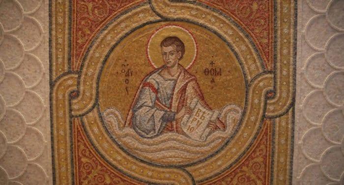 В Дивеево освящен придел в храме с мозаикой апостола Фомы