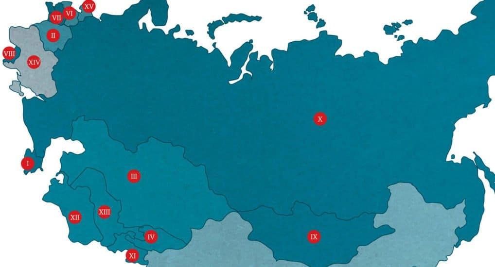 Каноническая территория Русской Православной Церкви