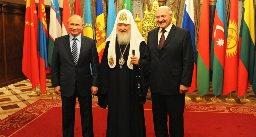 Главы России и Беларуси лично поздравили патриарха Кирилла с юбилеем