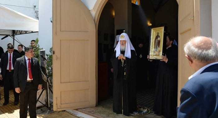После проповеди патриарха Кирилла группа католиков решила принять православие
