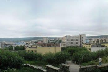 Вид на Североморск. Фото Лобанова Вячеслава