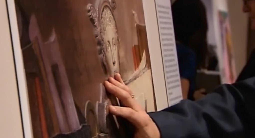 Слепые могут «увидеть» шедевры живописи в Пушкинском музее