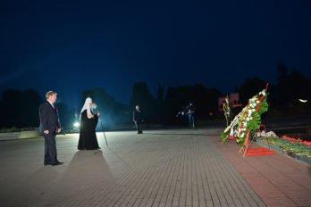 Возложение венка вБрестской крепости