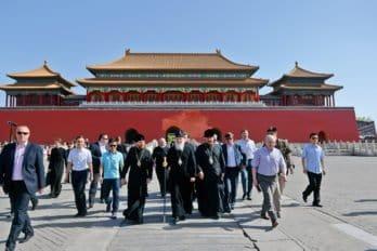 Посещение бывшего Императорского дворца вПекине