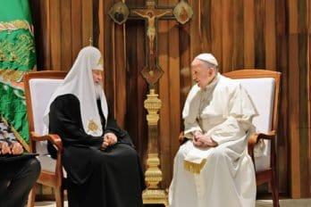 Встреча сПапой Римским Франциском