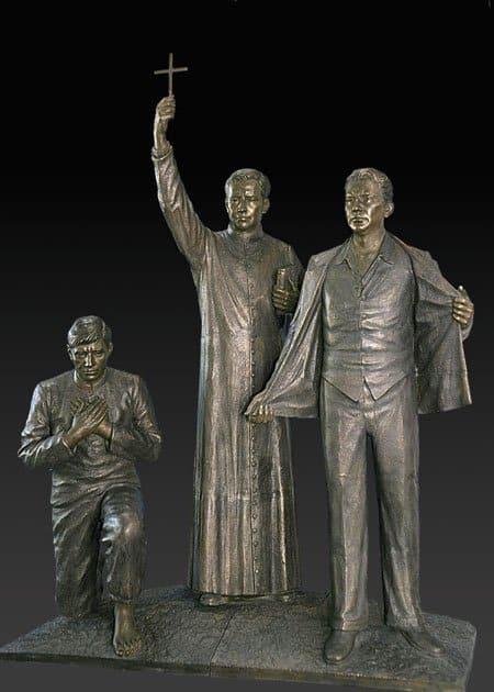 Статуя в память о мексиканских мучениках
