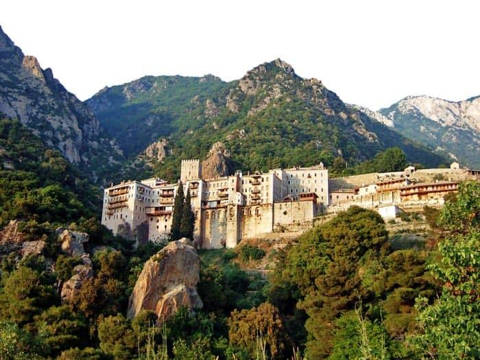 Монастырь св. Павла на Афоне. Фото ссайта afonua.com
