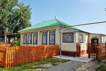 Село Оброчное, дом родителей отца Патриарха Кирилла
