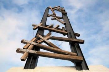 Памятник полякам, погибшим во время сталинских репрессий вНорильске идругих местах принудительных работ. Фото Владимира Ештокина