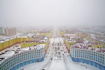 Центр Норильска. Фото Владимира Ештокина